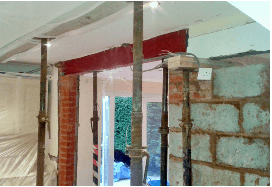 Removal of load bearing walls and forming structural openings and the Party Wall etc Act 1996