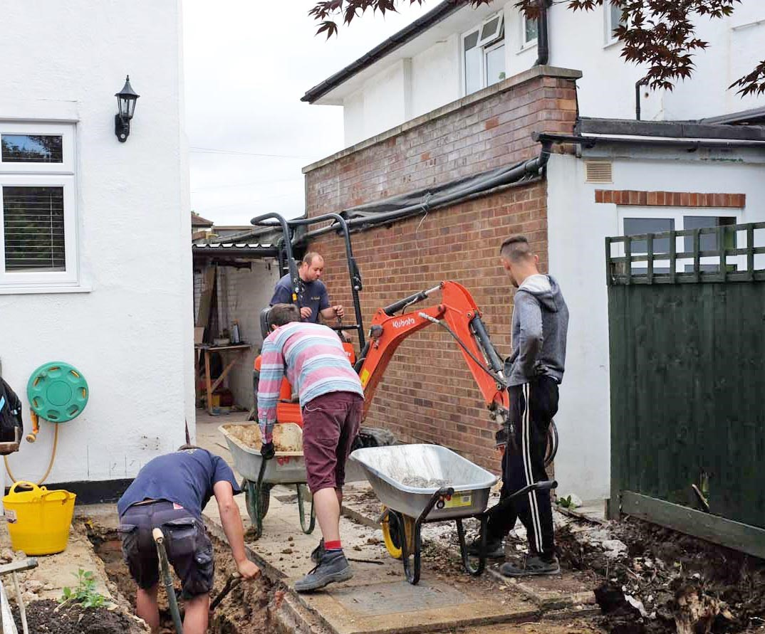 Neighbours and Building Works